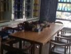 古典办公实木大板仿古茶几茶桌乡村茶桌原木餐桌茶台北欧复古