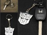 变形金刚款钥匙扣 钥匙圈 汽车车标钥匙环