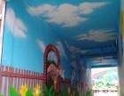 专业承接临沂企业公司餐厅酒店文化墙古建幼儿园墙绘