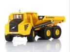 凯迪威合金工程车模型1:87装卸车/铰接式运输卡车原厂授权