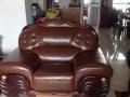 旧沙发翻新:加固+加料加海绵+重新换布、皮=新沙发