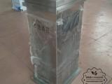 深圳室内方形电梯口不锈钢垃圾桶定做金属果皮箱厂家