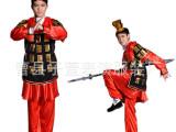 特价成人儿童古代士兵演出服古装盔甲披风表演花木兰服将军服汉服