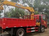 重汽豪曼小蓝牌潍柴160马力徐工5吨吊机