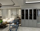 新华联国花园138平米三居新中式实创装饰案例分享