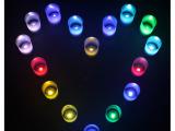 七彩声控蜡烛 电子蜡烛 创意小夜灯 地摊货源 火爆销售