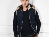 一件代发/厂家直销/男装时尚秋冬装男士韩版休闲棉马甲男式外套