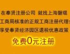 奉贤0元注册公司 奉贤免费注册公司 上海磐琨