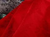 百年新业酒店布草床上用品全棉大红牡丹花面