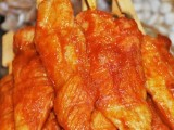 香酥无骨川香鸡柳半成品速冻调理食品油炸烧烤肉串5kg一件代发