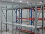 厂家批发定做仓储货架超市货架钛合金展柜等