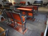佛山亚奇家具学生课桌椅全国批发 一件也是批发价