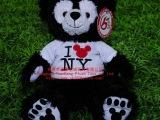达菲熊 迪士尼卡通熊玩具 纽约Duffy