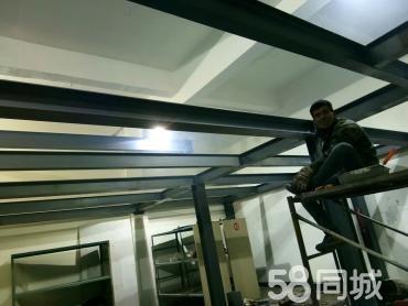 超越钢结构楼梯制作跃层搭建室内二层搭建现浇楼板