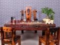 湖州市老船木家具茶桌办公桌餐桌椅子实木沙发茶几茶台鱼缸博古架