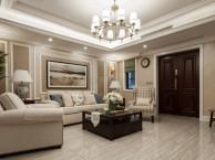 茶园法兰西庄邸装修丨现代美式叠拼别墅设计丨天古设计师贺渝