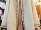韩国代购2014秋冬新款女装韩版中长显瘦羊毛呢子大衣外套