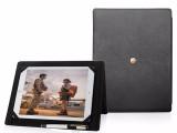 惠州ipad pro保护套带写字本苹果平板真皮保护壳工厂定做