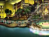 腾博太阳能绿色照明 城市楼宇亮化工程 市政道路灯