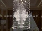 复式楼灯具高档客厅灯具 室内客厅灯具 别墅楼梯灯具