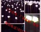 潍坊风车,玫瑰花,灯光节 暖场展览道具美陈制作厂家