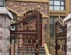 铝艺门,钢铝门,铝艺护栏,锌钢护栏,成品围墙整体定制