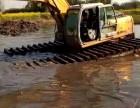 河北水陸挖掘機出租濕地挖機租賃全國低價服務