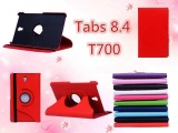 批发三星Tab S 8.4平板电脑保护套SM-T700保护套旋转