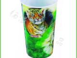 厂家直销 3D水杯 高品质儿童卡通塑料水杯 童趣杯子 3D水壶