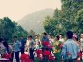黑麋峰山庄登山、度假、烧烤、篝火、聚会