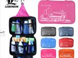 力伯侬 户外旅游行用品洗漱包 收纳包袋 防水出差便携必备套装包