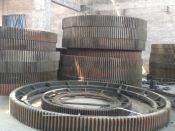 安阳机械+水泥厂圆筒磨机大型齿轮加工+河南机械加工