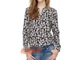 欧美高端品牌服装 厂家直批 2014春夏新款欧美大牌女式衬衫