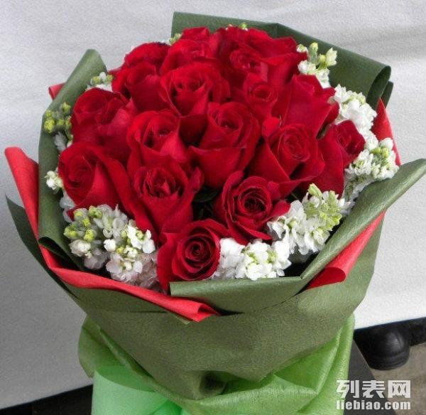 为公司单位提供玫瑰花束单枝玫瑰花低价批发