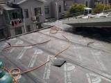 上海松江广富林路小区楼顶漏水渗水做防水嘉松南路做防水补漏