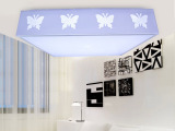 新款led吸顶灯正方形客厅 卧室大厅工程装修灯饰简约方形灯饰灯具