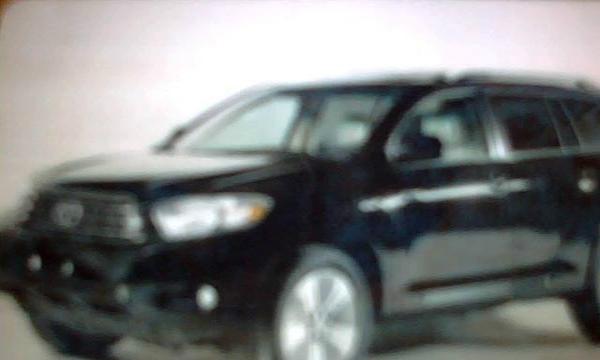 2012新款丰田汉兰达7座新车带司机高清图片