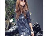 2012夏装新款 瑞丽日韩女装 雪纺长背心裙+不规则蕾丝洋装
