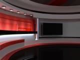 上海演播室设计 演播厅 融媒体中心 录音棚效果图设计