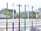不锈钢监控立杆2.5米3米3.5米4米枪击球机支架小区监控杆