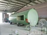 玻璃钢沼气脱硫塔除尘效率可达99 -润龙