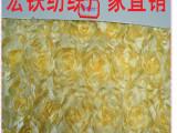 柯桥厂家直销 立体绣婚纱礼服用布 多色可选 绣花布