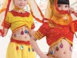 儿童演出服幼儿园表演服装 印度舞蹈服民族少儿新疆舞肚皮舞