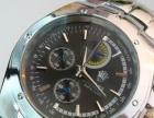 镶钻防水超薄时尚休闲男士钢带手表简约商务手表 免费