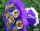 金玫瑰花 24k金箔玫瑰花 永不凋零的玫瑰花
