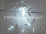 东莞批发安装新款白色带花纹磨纱PVC空调门帘