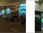 泰安停车场内立柱超薄灯箱广告位