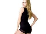 Y896女士塑身美体衣吊带瘦身背心束腰收腹V领蕾丝无痕燃脂内衣薄