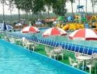 大型充气城堡水上乐园支架水池充气滑梯百万海洋球鲸鱼岛广场庙会