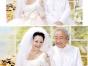 透明元素结婚证件照